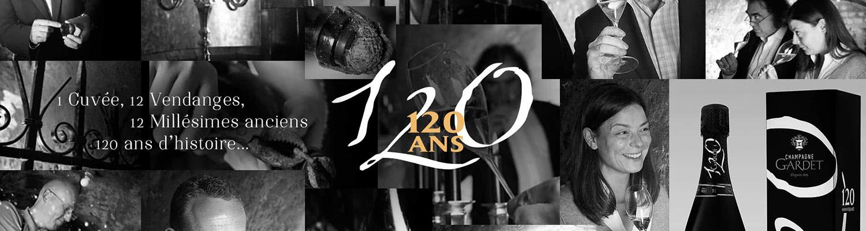 display Champagne Gardet Cuvée 120 ans