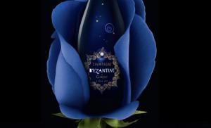 Byzantine By Champagne Gardet, la rose revisitée en rosace